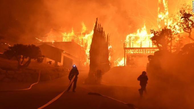 california fires 2018