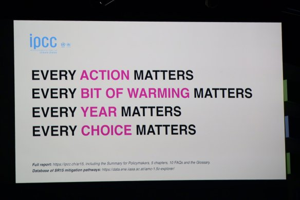 every bit matters IPCC